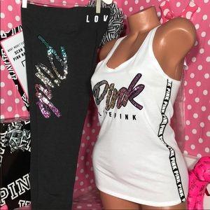 Pink Victorias Secret Pink Bling Ombré set🌸